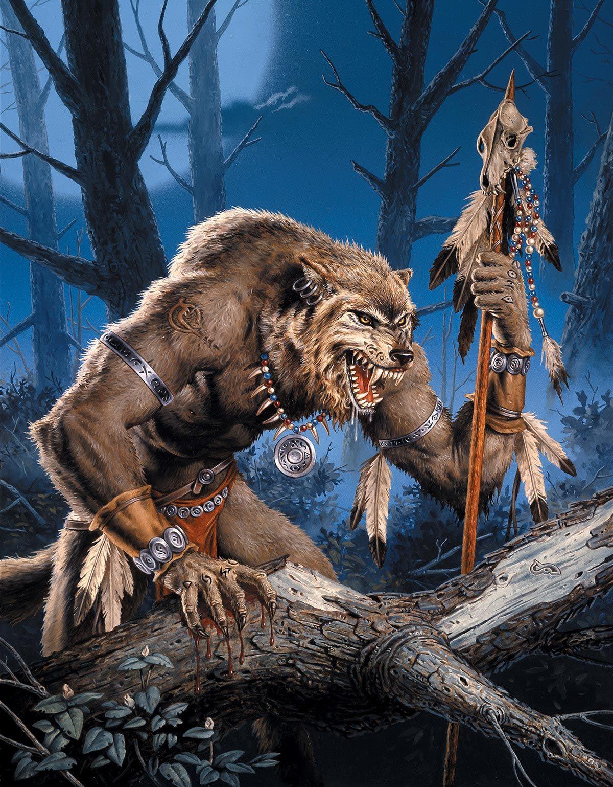 Невры - племя волколюдей