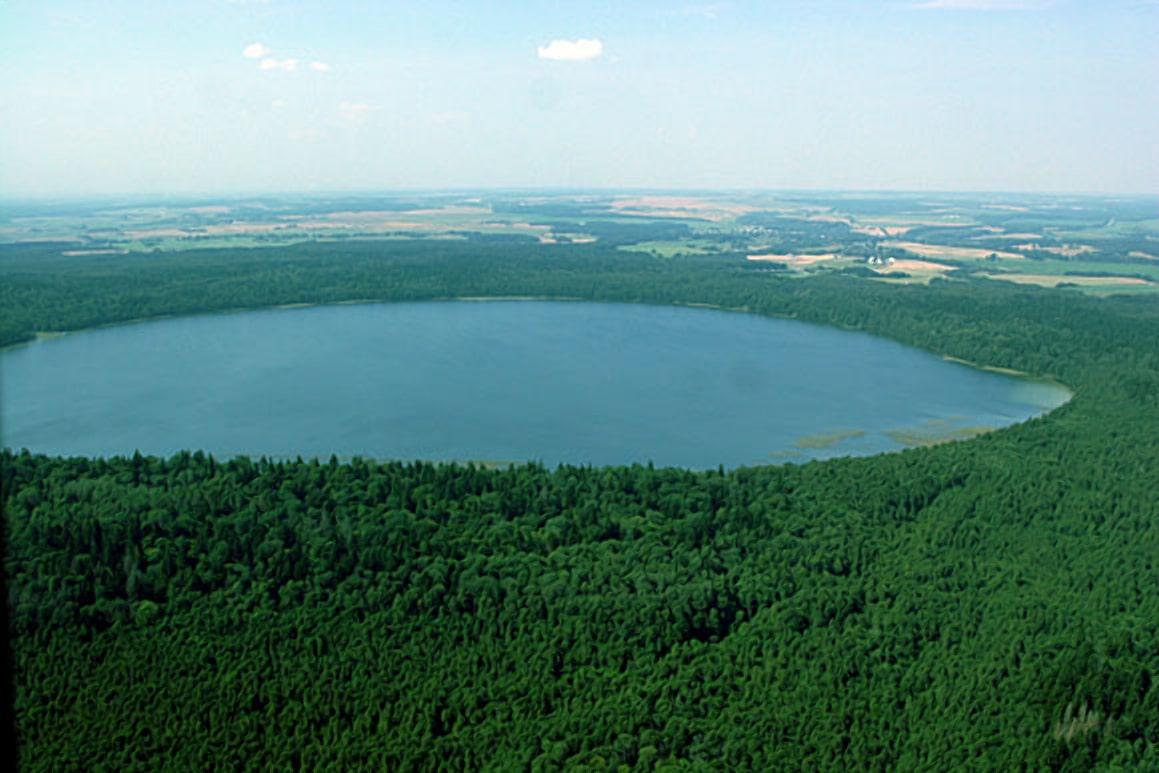 Таинственное озеро свитязь