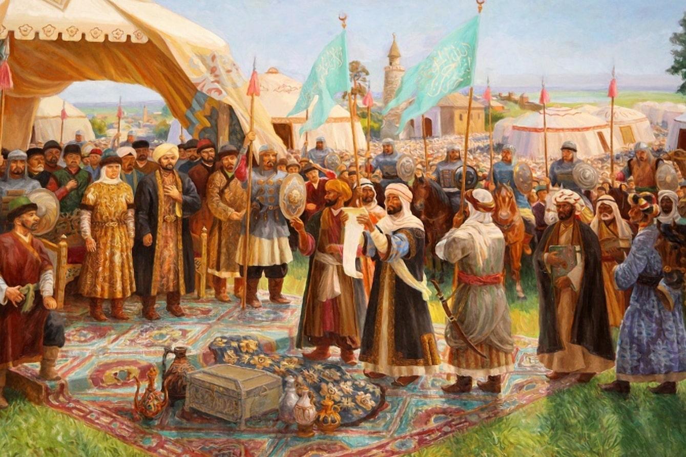Восточные рынки ждали рабов