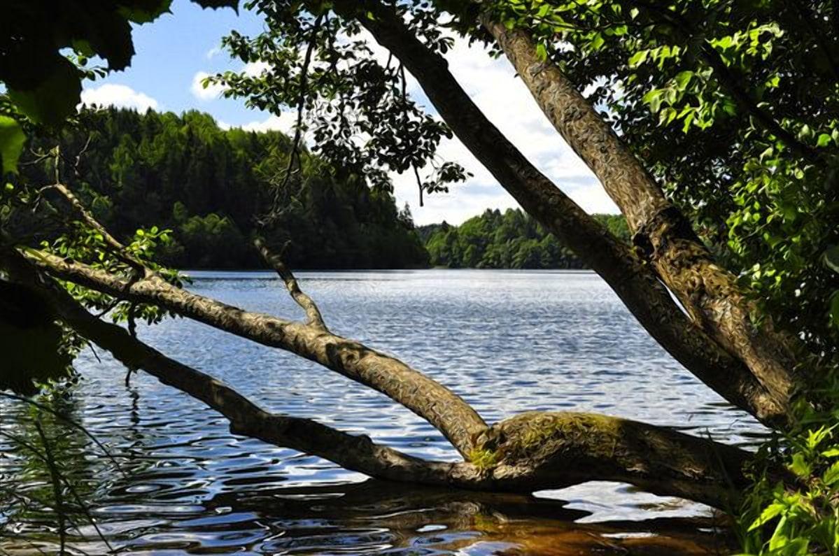 Глубокое озеро Гиньково