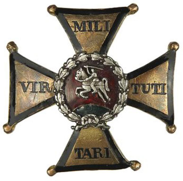 Знак со старым гербом ВКЛ, который носил Лермонтов