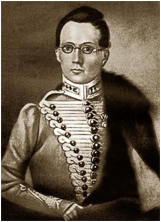 Корнет Грибоедов начал писать в Брест-Литовске