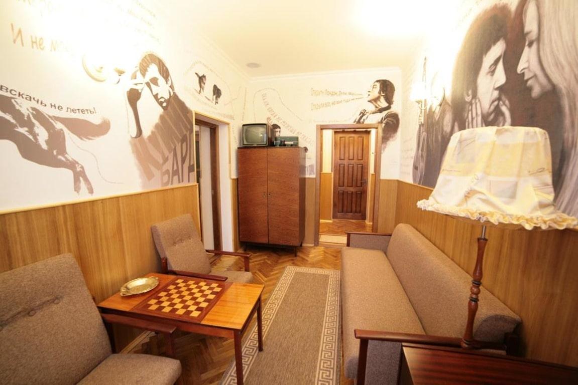 Мемориальный номер Высоцкого в гостинице Буг