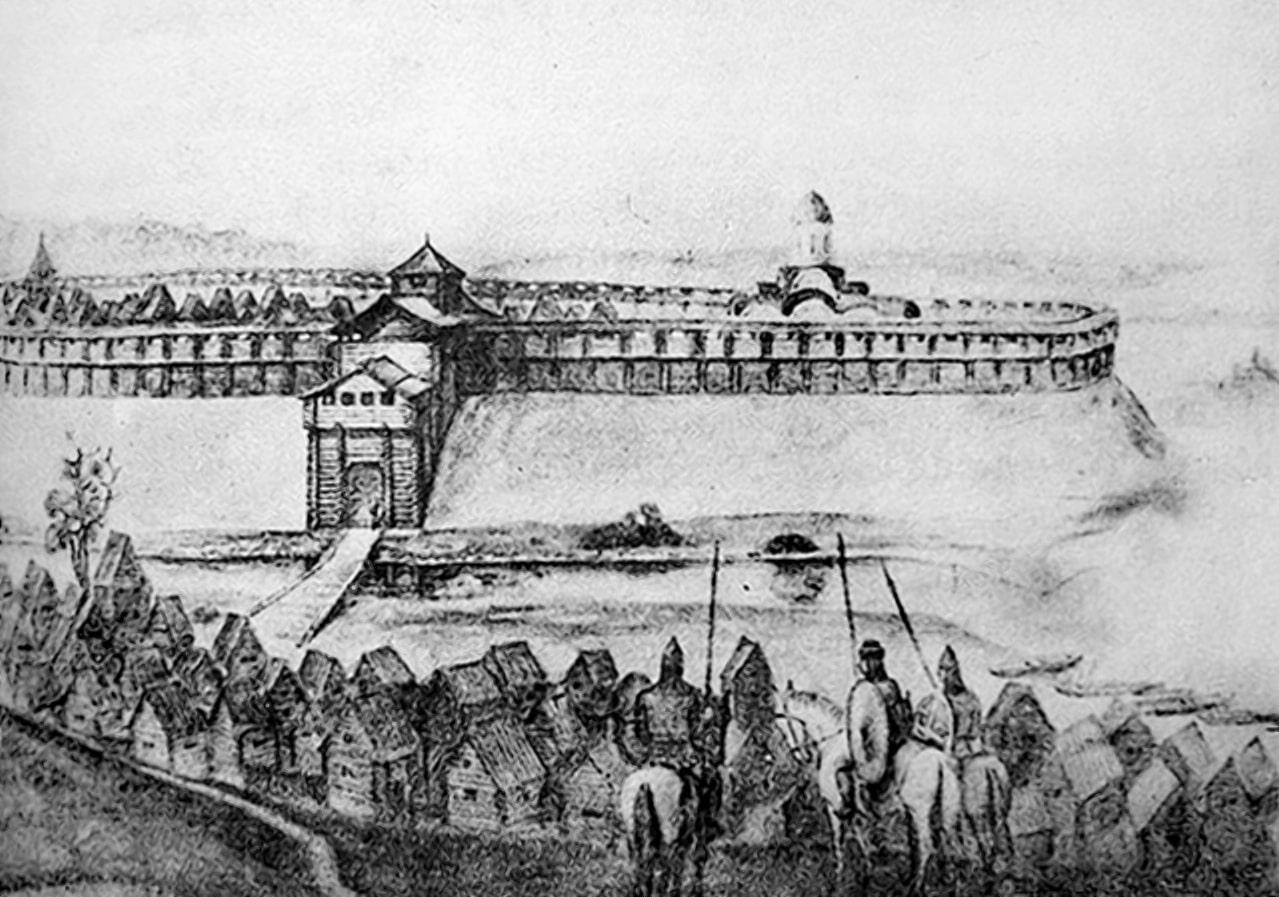 Минск в начале 12 столетья