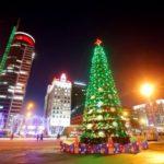 Новогодние праздники в Минске