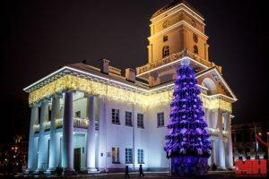 Новогодний Минск 2