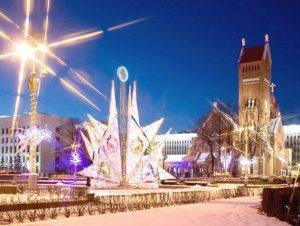 Новогодний Минск 3