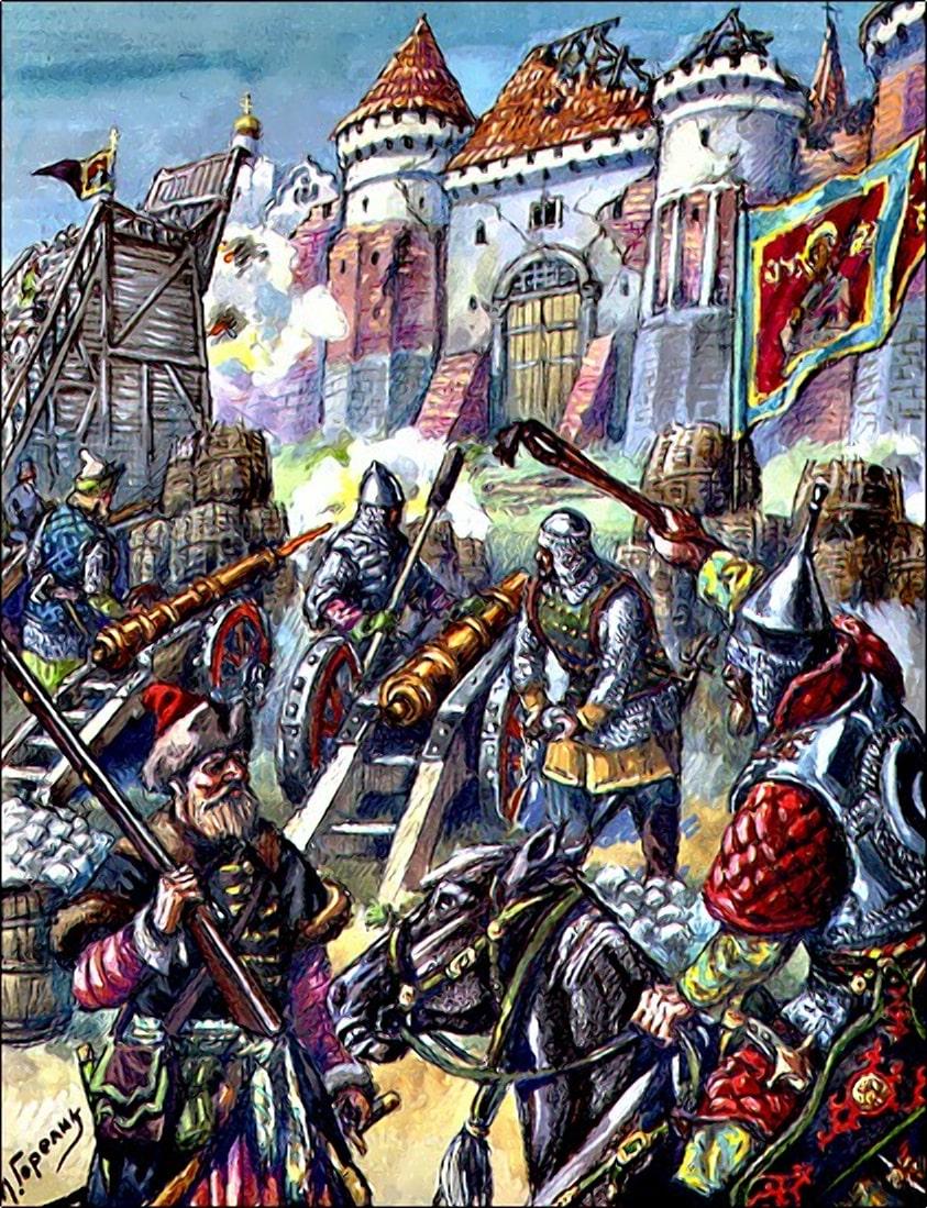Осада Смоленска московскими войсками