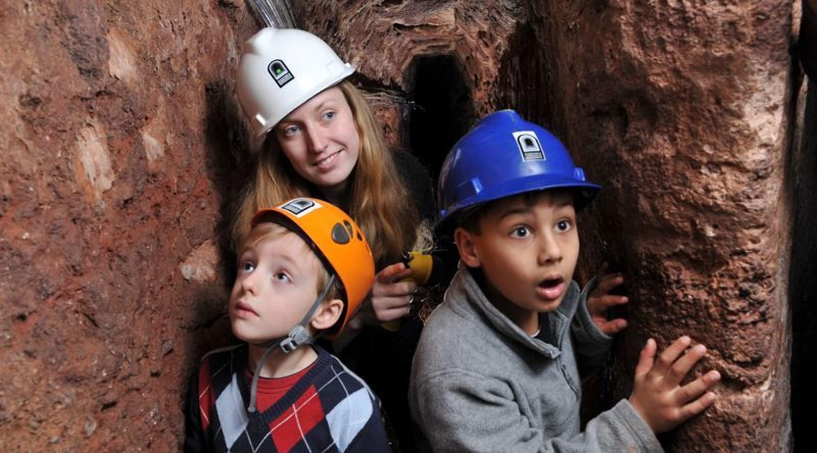 Открытые подземелья будут интересны для туристов
