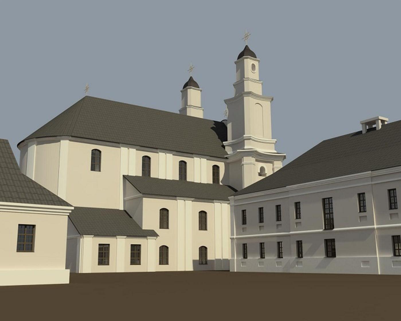 Реконструкция базилианского монастыря