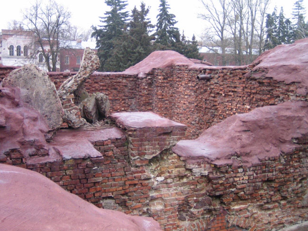 Руины иезуитского монастыря