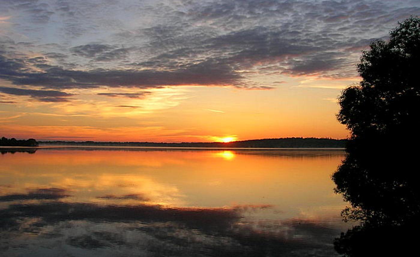 Таинственное озеро Селява