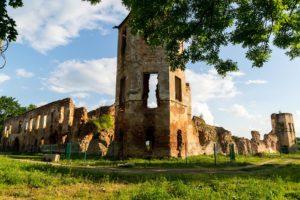 Гольшанский замок руины
