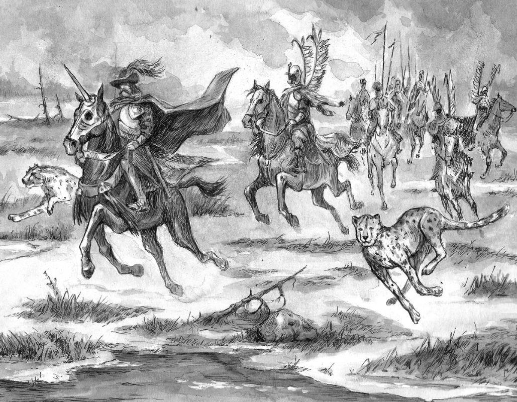 Дикая охота короля Стаха неслась по болоту