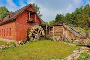 Наносы - водяная мельница