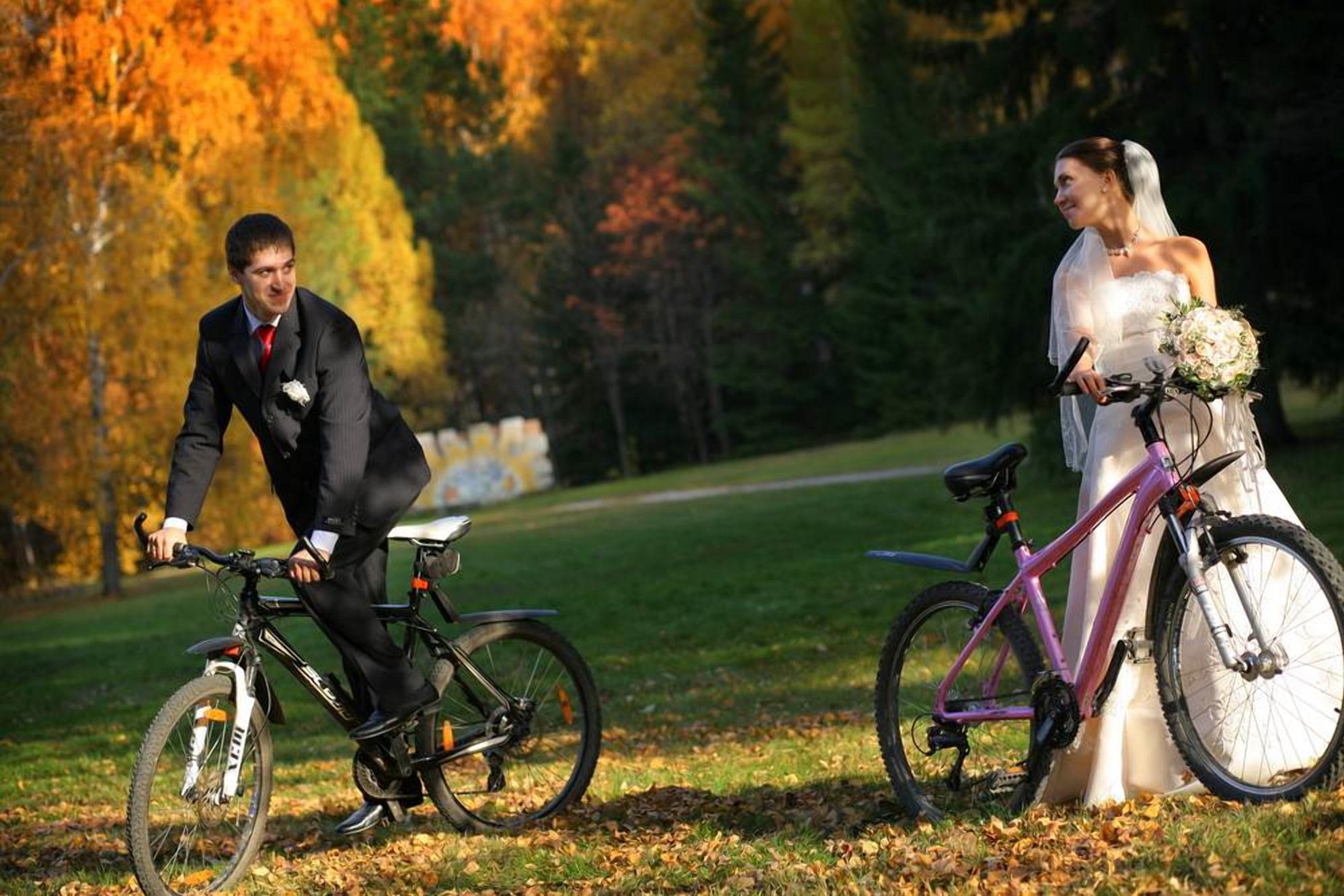 На велосипедах по пуще