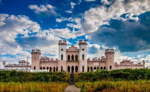 Реконструкция замка в Коссово
