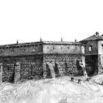 Старый замок в Гродно во времена Витовта