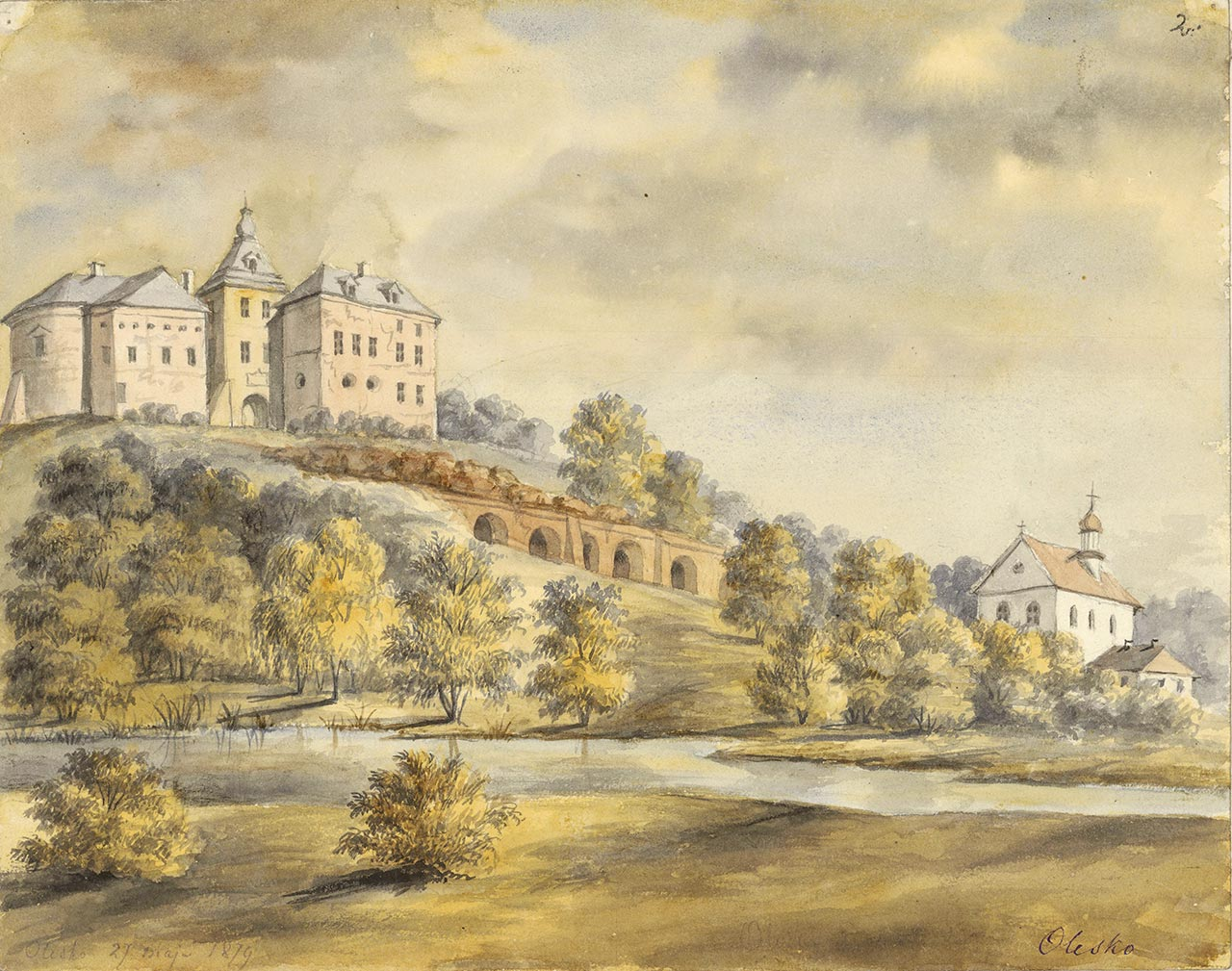 Акварели Наполеона Орды