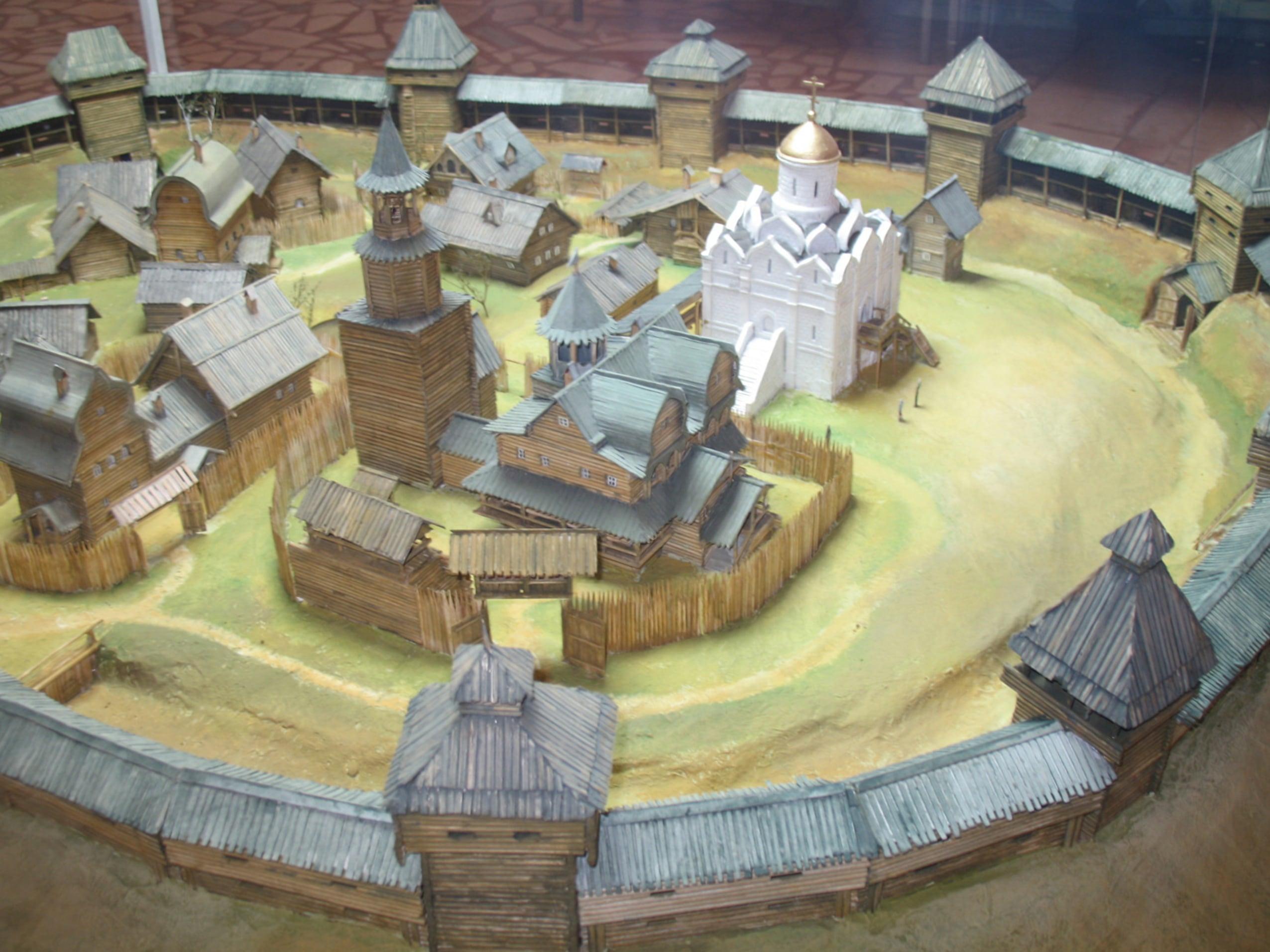 Витебский детинец реконструкция 11 века