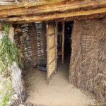 Вход в жилище Милоградской культуры