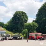 Выставка военной техники в крепости