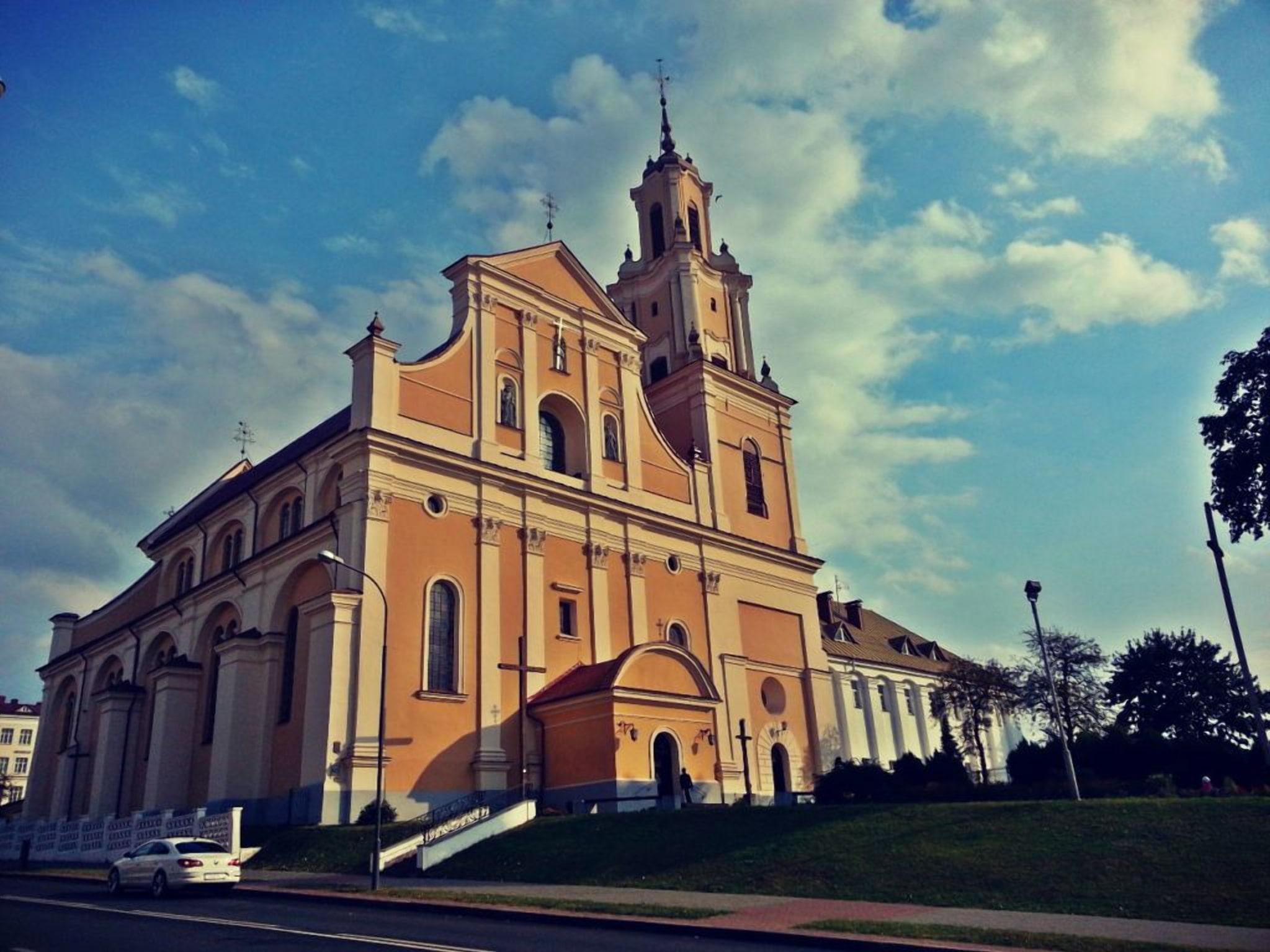 Монастырь бернардинцев в Гродно