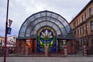 Новая оранжерея в Бресте