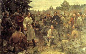 Партизанский отряд Кастуся Калиновского в 1863 году