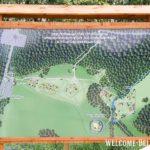 План строения археологичнеского музей под открытым небом