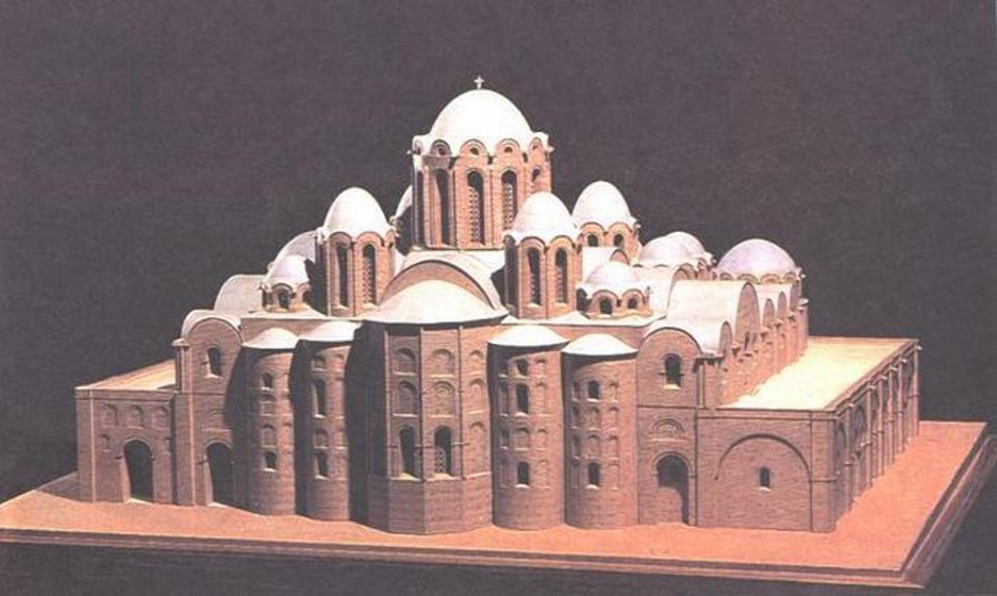 Полоцкая София в XI веке