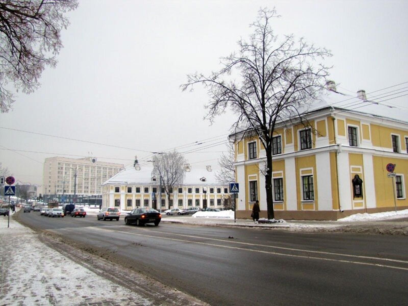 Район Городница Тызенгауза в Гродно