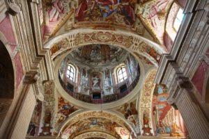 Росписи и убранство костела в несвиже