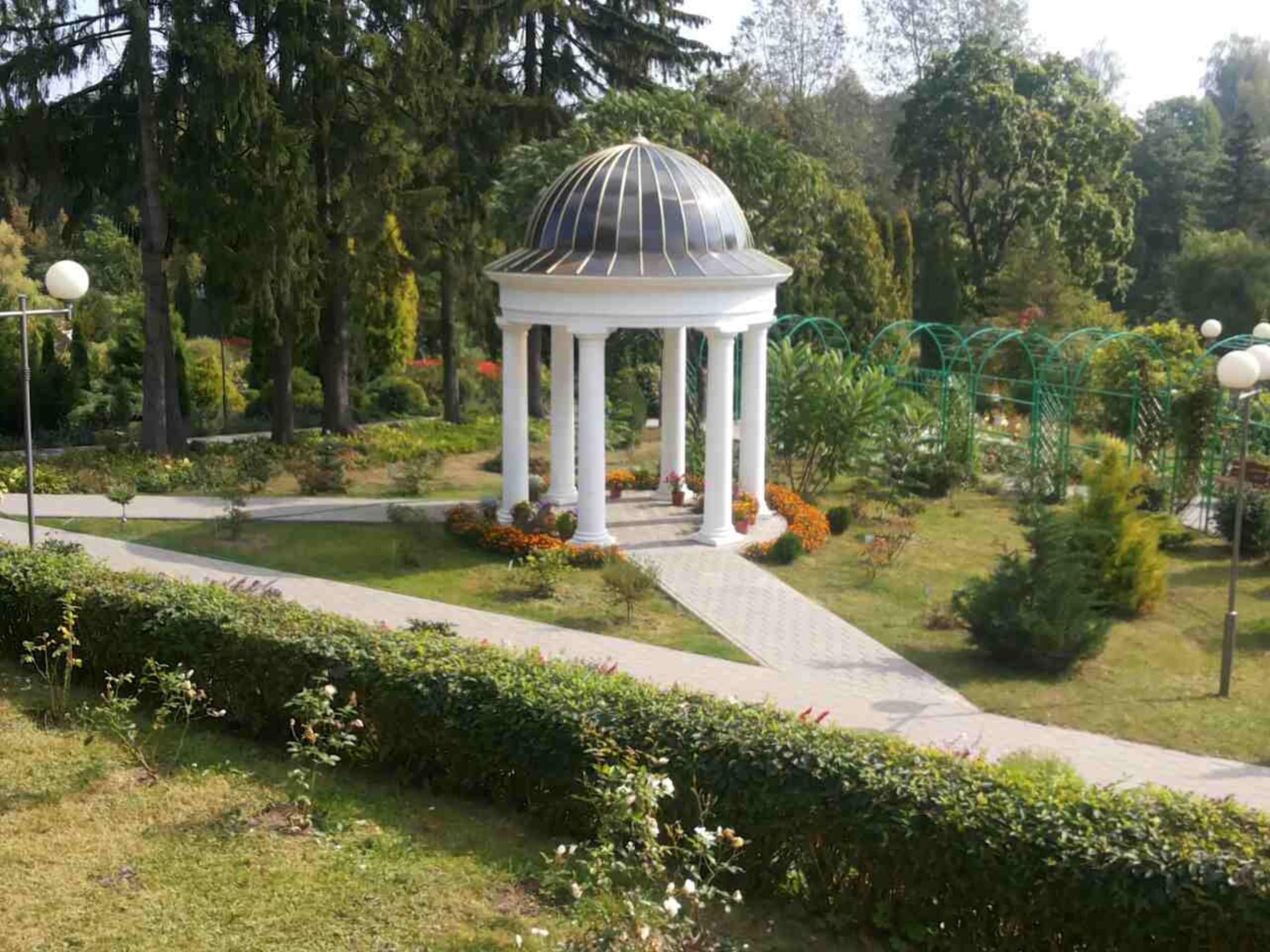 Старейший ботанический сад в Горках