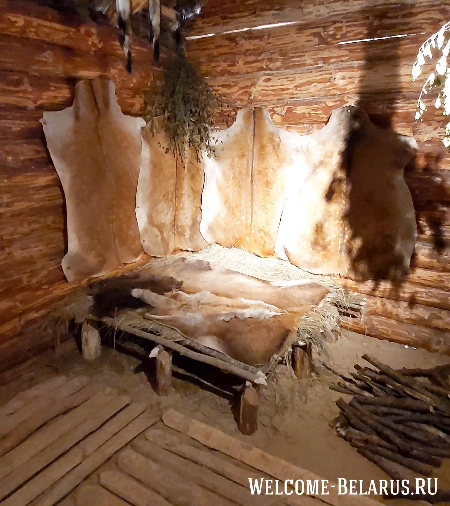 Стены жилища и место отдыха людей милоградской культуры