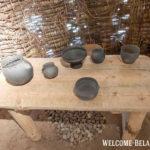 Стол с посудой Милоградской культуры