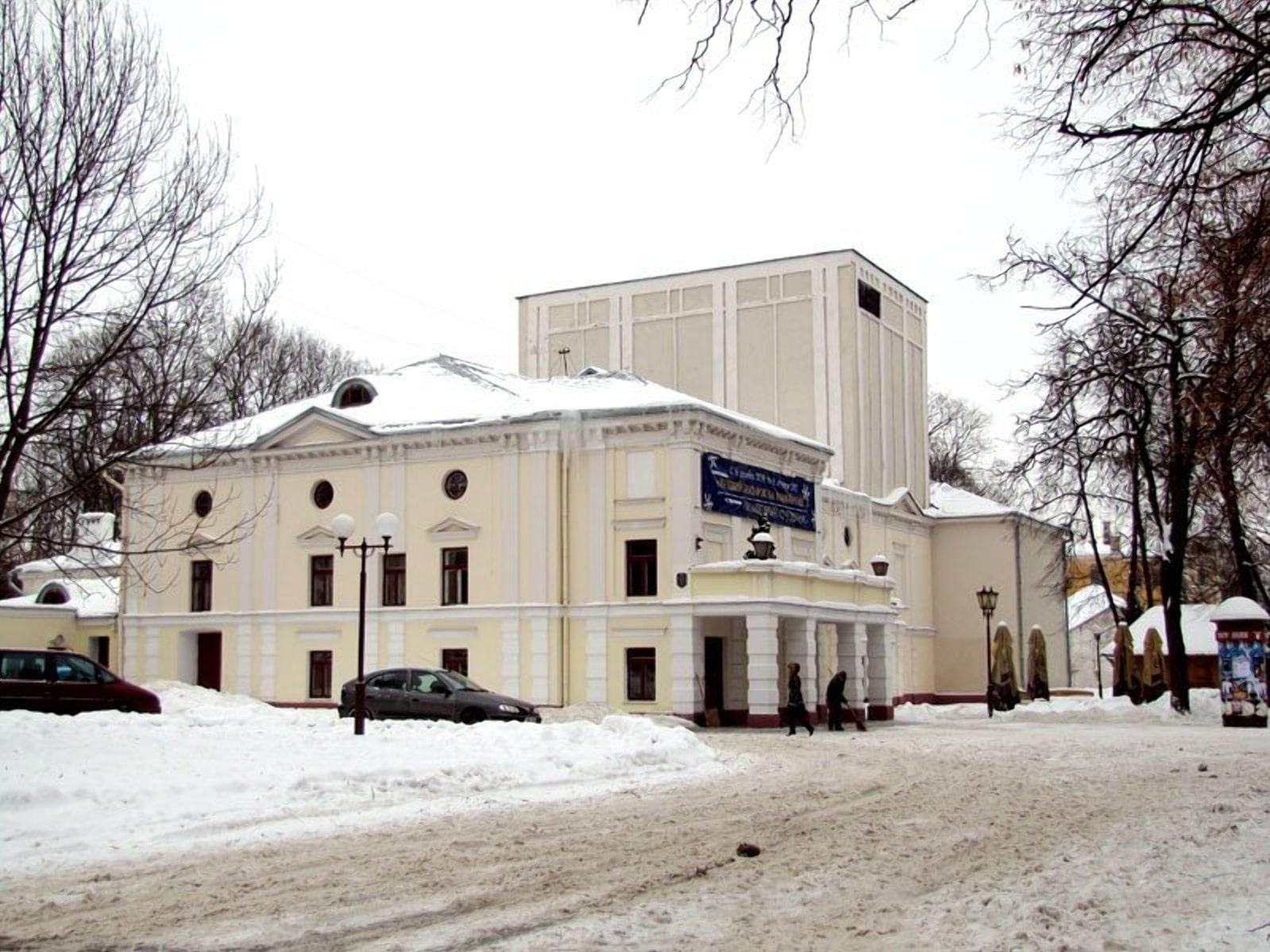 Театр Тызенгауза в Гродно