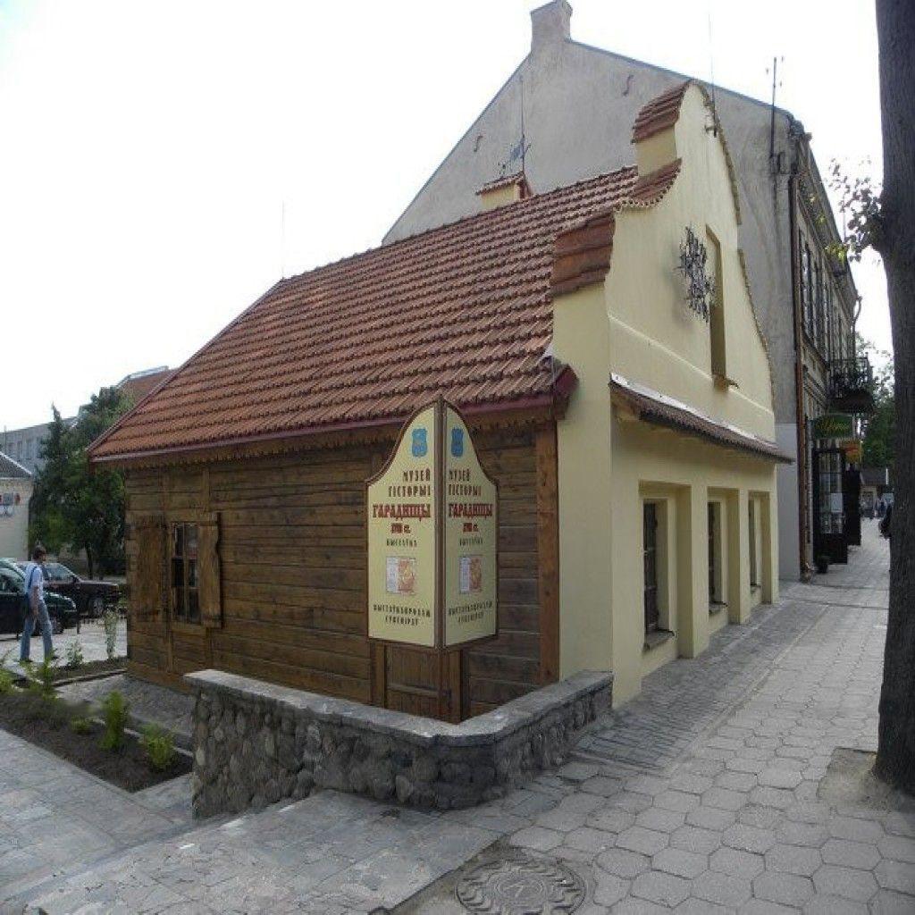 Типовая застройка в Гродно при Тызенгаузе