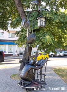 Фонарь в Бресте