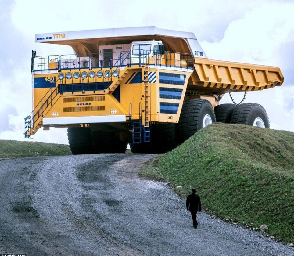 Белаз самый большой автомобиль в мире