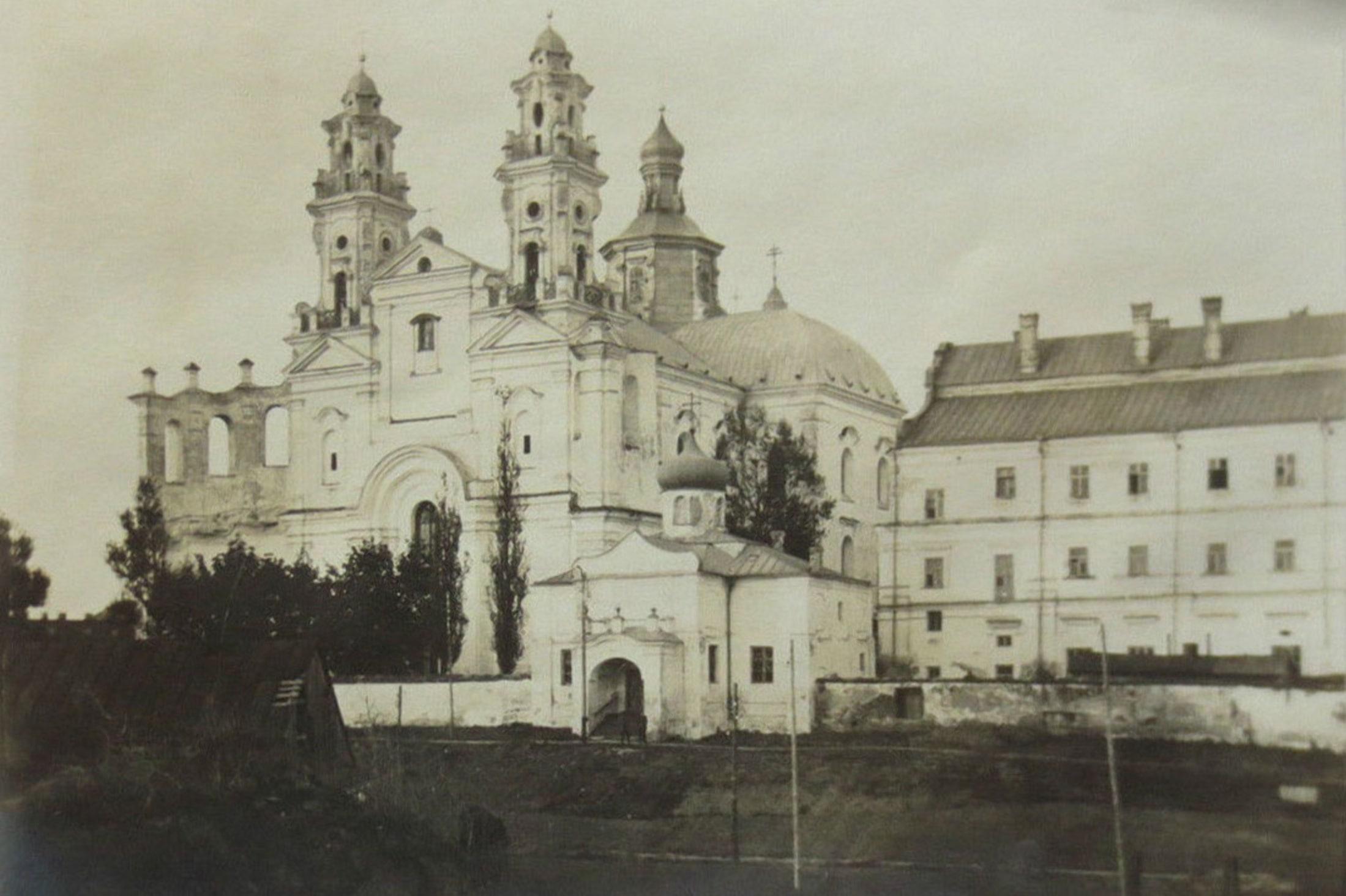 Взорванный костел святого Станислава