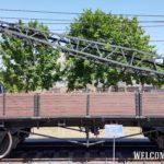 Двухостная платформа 406-321 грузоподъемностью 20т сварной конструкции без ручного тормоза 1946г