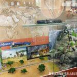 Железнодорожные пути, реконструкция в миниатюре