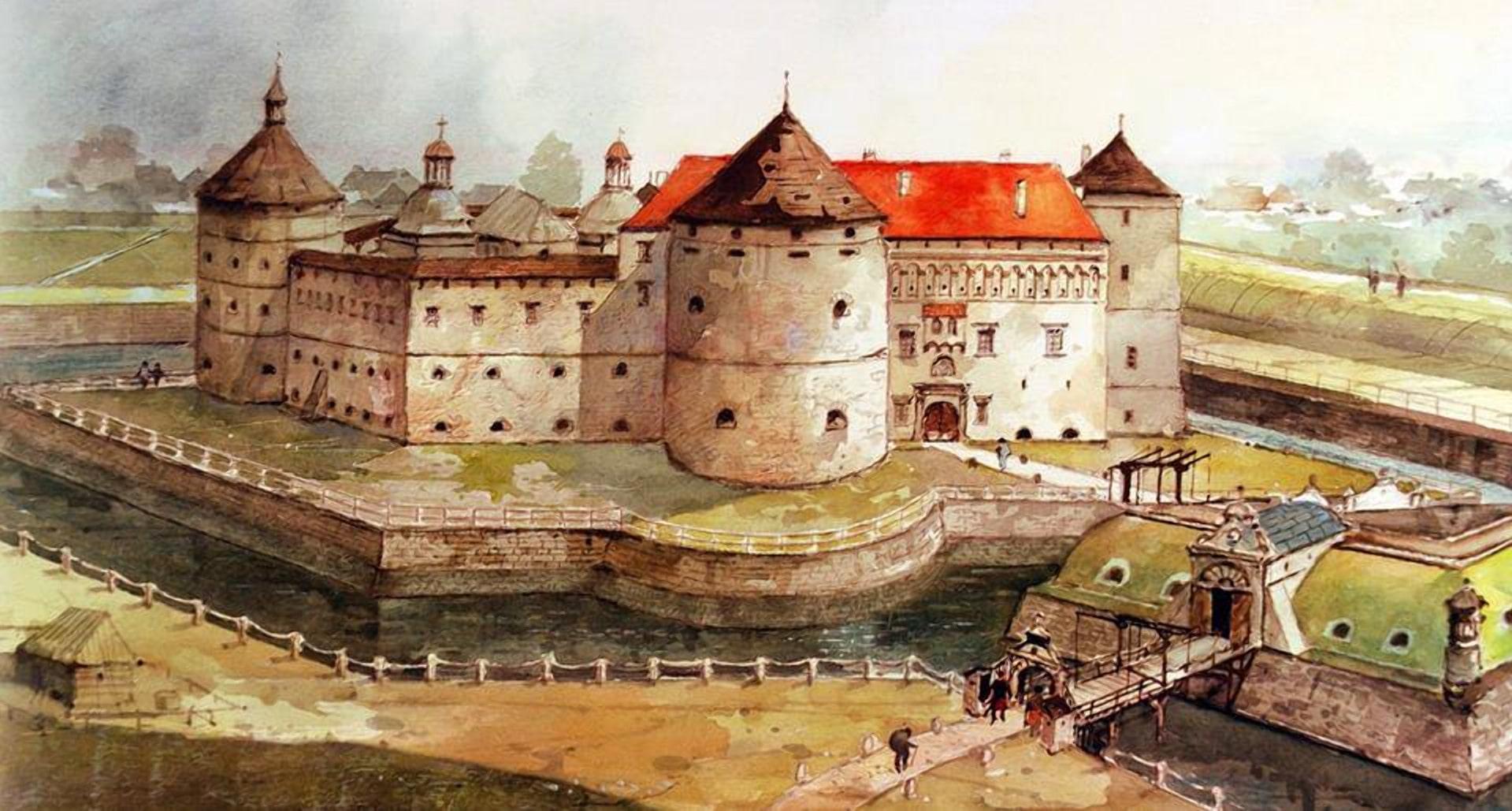 Каролинский замок в Пинске