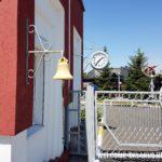 Колокол и вокзальные часы