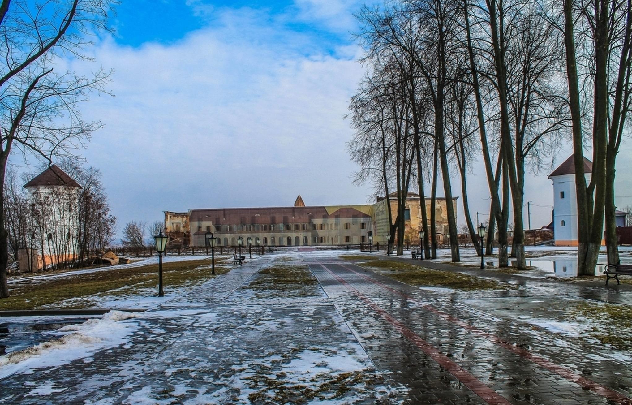 Начата реставрация Быховского замка