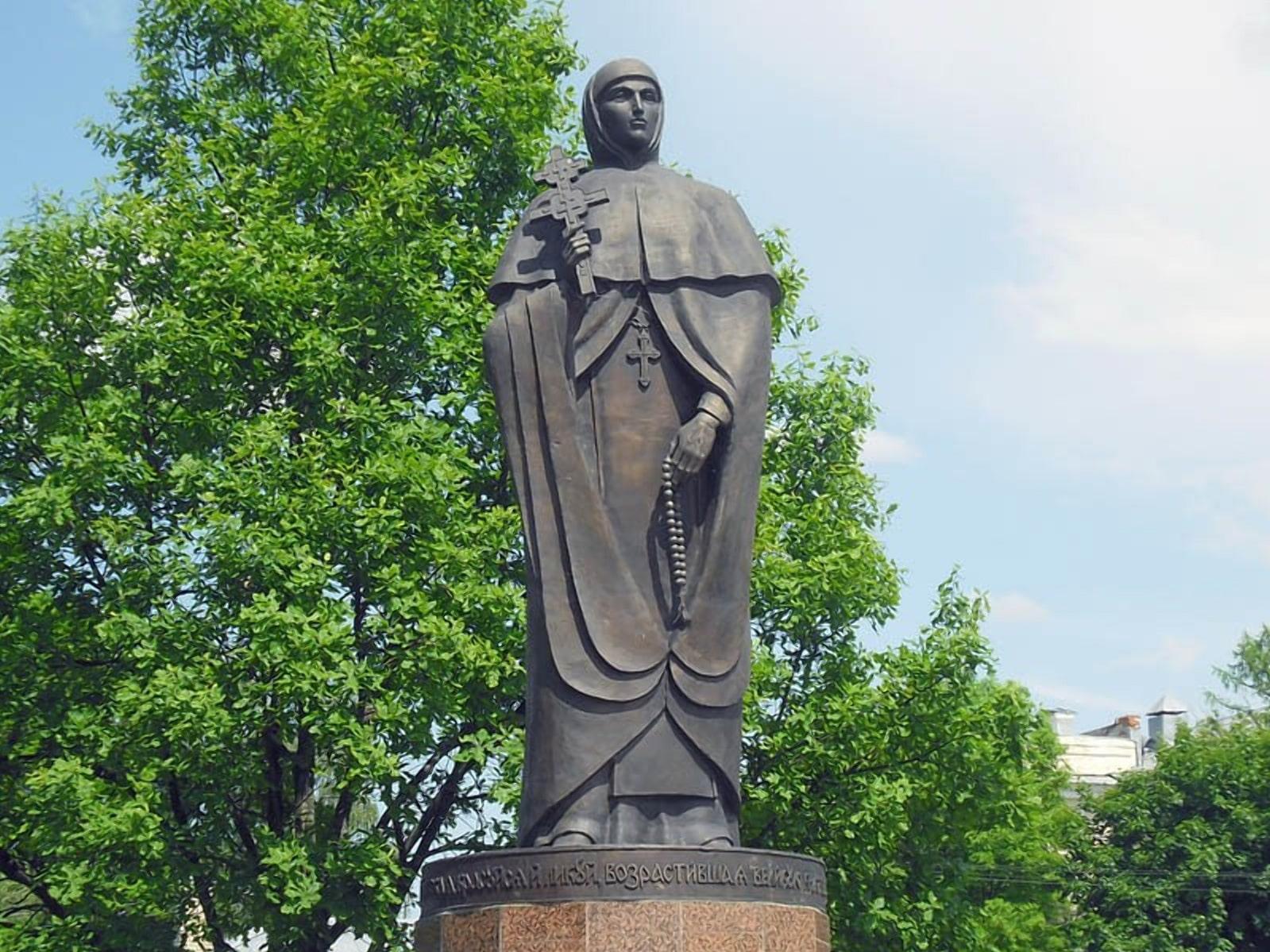 Памятник Ефросинье Полоцкой