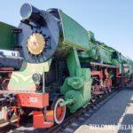 Паровоз в Брестском музее железнодорожной техники