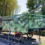 Перевозка военной техники на поезде