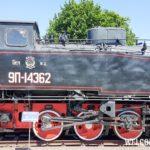 Промышленный паровоз серии 9П-14362 1953г